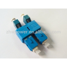 LC/UPC Female to SC/UPC Male Single-mode Duplex Plastic Fiber Adapter